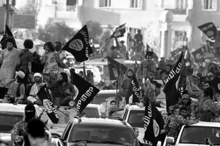 manifestación ISIS